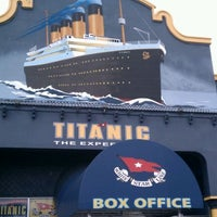 Photo taken at Titanic The Artifact Exhibition by Christopher P. on 12/6/2011