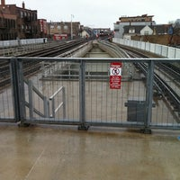 Photo taken at CTA - Belmont (Red/Brown/Purple) by Adam H. on 4/28/2011