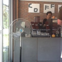 Photo taken at Boy's Organic Coffee Shop by Marina S. on 7/24/2012