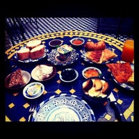Photo taken at Riad Ahlam by 萬谷 美. on 9/14/2011
