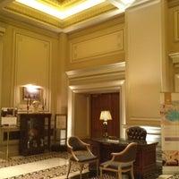 Photo taken at Hotel Grande Bretagne by Jonathan Xavier C. on 7/20/2012