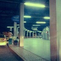 Photo taken at Terminal Rodoviário Miguel Mansur by Ana Cristina Mokdeci®  on 1/15/2012