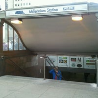 Photo taken at Millennium Station by Marcy G. on 3/11/2012
