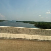 Photo taken at Tennessee River Bridge by Jim G. on 5/25/2012