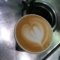 Photo taken at New Wave Coffee by iSapien 1. on 5/2/2012