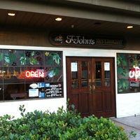 Photo taken at St. John's Bar & Grill by Dave C. on 8/21/2012