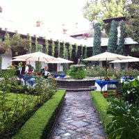 Photo taken at San Angel Inn by Grubas S. on 8/20/2012