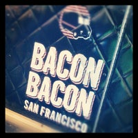 Photo taken at Bacon Bacon by Dan P. on 5/16/2012