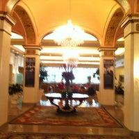 Photo taken at Omni Shoreham Hotel by latino D. on 7/4/2012