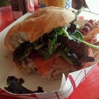 Photo taken at Fozzie's Sandwich Emporium by Justin M. on 5/26/2012