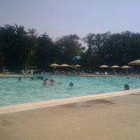 Photo taken at Woodcroft Swim Club by Amanda H. on 7/6/2012