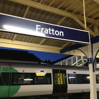 Photo taken at Fratton Railway Station (FTN) by Jo C. on 5/25/2012