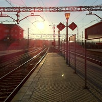 Photo taken at Estación de Cercanías de Villalba by Fer on 3/23/2012