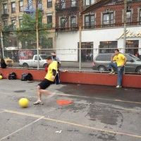 Photo taken at NYCSSC Kickball - Courts A & B by Matthew H. on 5/9/2012