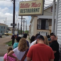 Photo taken at Willie Mae's Scotch House by Kevin W. on 3/23/2012