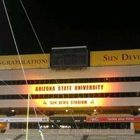 Photo taken at Sun Devil Stadium by Dan T. on 5/4/2012