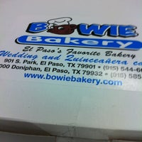 Photo taken at Bowie Bakery by Jesse H. on 2/18/2012