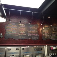 Photo taken at J.P. Licks Coolidge Corner by Yoav S. on 8/19/2012