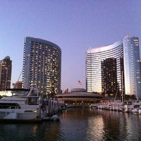 Photo taken at Marriott Marquis San Diego Marina by Rod K. on 8/6/2011