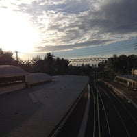 Photo taken at Armadale Station by Howard M. on 8/22/2012
