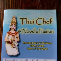 Photo taken at Thai Chef and Noodle Fusion by C H. on 5/30/2012