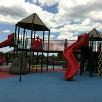 Photo taken at Kid's Cove at Mount Trashmore Park by Kelly M. on 4/24/2012