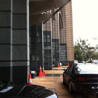 Photo taken at Ministry of Finance (Perbendaharaan Malaysia) by Akhbar R. on 4/19/2012