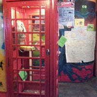 Photo taken at Wombat's City Hostel Vienna - The Base by Pablo H. on 8/2/2012