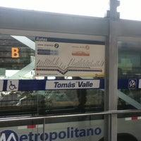 Photo taken at Estación Tomás Valle - Metropolitano by Julio S. on 4/8/2012