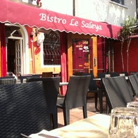 Photo taken at Le Saleya by Olivier B. on 8/1/2011