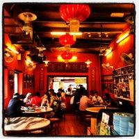Photo taken at Famosa Chicken Rice Ball by Vivian C. on 7/24/2012