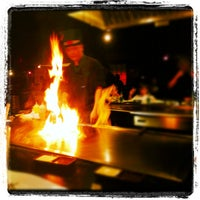 Photo taken at Wasabi Japanese Steakhouse by May F. on 4/28/2012