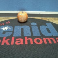 Photo taken at Enid City Hall Offices by Sheri W. on 10/6/2011