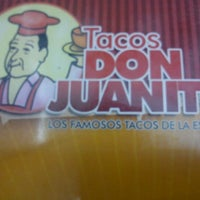 Photo taken at Tacos Don Juanito by Angel E. on 1/19/2012