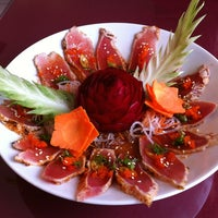 Photo taken at Fuji Sushi House by John M. on 10/28/2011