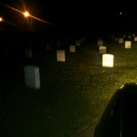 Photo taken at Hampton National Cemetery by Flash W. on 9/15/2011