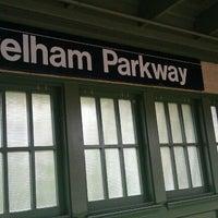 Photo taken at MTA Subway - Pelham Parkway (2/5) by Doula-Maria K. on 9/21/2011
