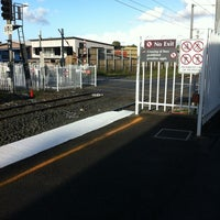 Photo taken at Cannon Hill Railway Station by Lachlan K. on 1/30/2012