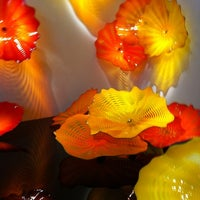 Photo taken at Chihuly Exhibit @ The MFA by Suzanne P. on 8/3/2011