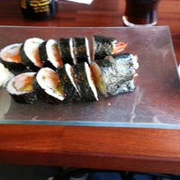 Photo taken at Eat Sushi & More by Bjarte S. on 9/7/2012