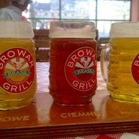 Photo taken at Browar Grill De Brasil by Artur N. on 9/5/2011