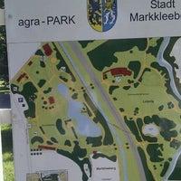 Photo taken at arga-Park by Tobias on 9/3/2011
