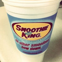 Photo taken at Smoothie King by Ashley V. on 5/1/2012