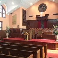 Photo taken at Ebenezer Baptist Church by Alisia S. on 8/12/2012