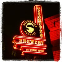 Photo taken at Deschutes Brewery Portland Public House by Chuck P. on 6/29/2012