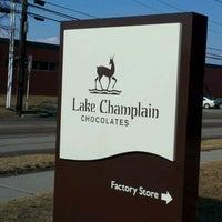 Photo taken at Lake Champlain Chocolates by ihate s. on 2/23/2012