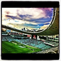 Photo taken at Allianz Stadium by Antony B. on 2/25/2012