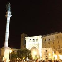 Photo taken at Colonna di Sant'Oronzo by Gabriele F. on 8/7/2012