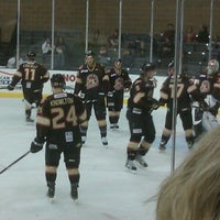Photo taken at Rushmore Plaza Civic Center Ice Arena by Sharon S. on 2/25/2012