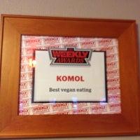 Photo taken at Komol Restaurant by Melissa D. on 3/19/2012